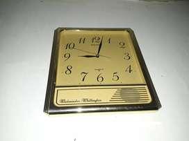 Jam dinding seiko,perempatan bunyi tiap 15 menit,Made in japan,normal
