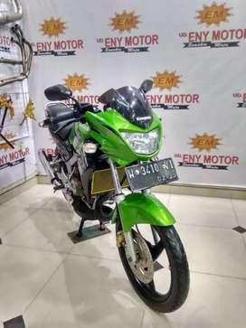 Kawasaki Ninja 150 R thn 2013 bisa kredit/cash/tukar tambah