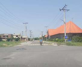 4 Marla Commercial Plot For Sale in Canal Gardens Lahore.