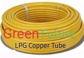 Kitchen Gas pipeline installation LPG & PNG