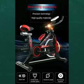 Alat fitnes murah sepeda spining lifesport bisa antar kerumah