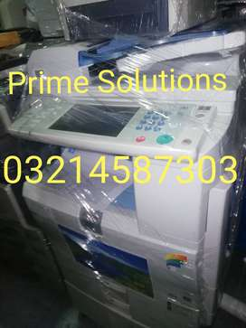Aaabsolutely fine colour Photocopier with printer scanner available