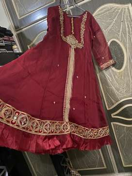 Long frok of aghanoor fabric for sale