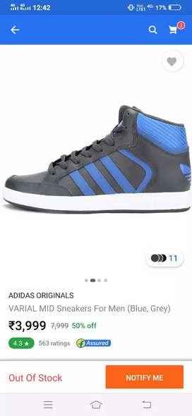 Addidas mid ankle sneakers
