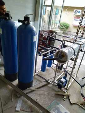 Minerals RO water filtration plant 1000 liter per hour
