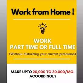 Work from home digital