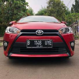 TOYOTA ALL NEW YARIS G MANUAL 2015 MERAH TDP MULAI 9JT