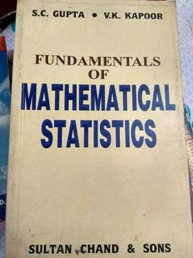 Fundamentals of Mathematical Sciences