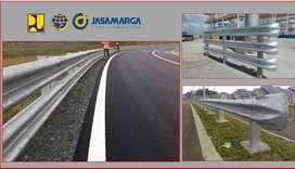 Pagar Pengaman Guardrail - Pagar Tol - Terminal End - BCTA BCTB