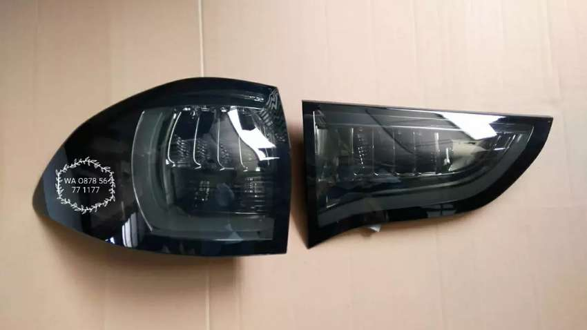 BwX. lampu belakang stop lamp/stoplamp pajero lama model led