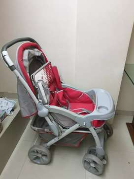 Stroller - Sturdy with Roof Cover