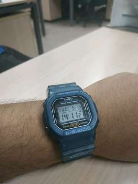 gshock dw5600E costume jelly