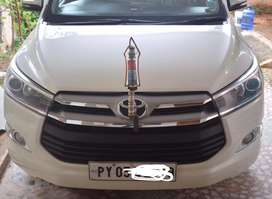 TOYOTA INNOVA CRYSTA VX GOVT DOCTOR USED CARFOR SALE IN EXCELLENT COND