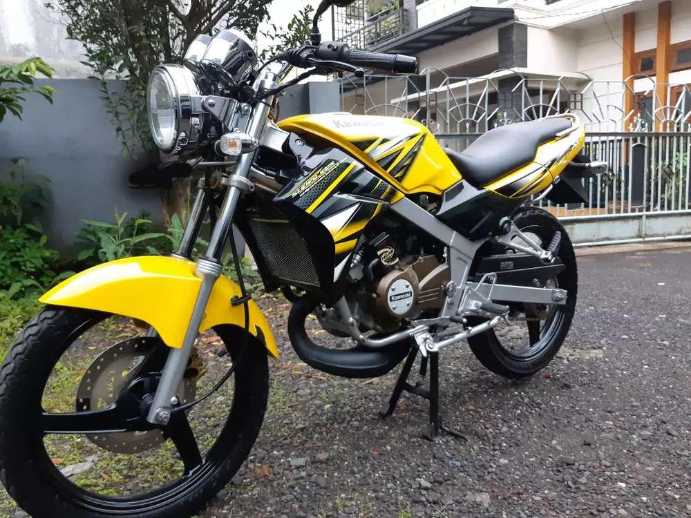 Ninja SS Tahun 2013 warna kuning Rare