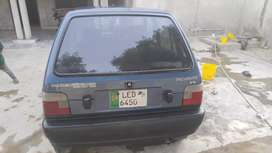 Mehran 2008 model with CNG operable kit and cylinder