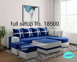 New L shape sofa set available  direct from factory at Lowest price