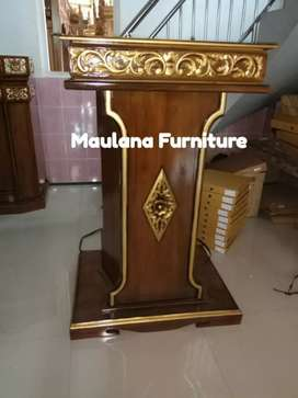 Mimbar masjid podium model simple