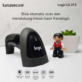Barcode Scanner Logic LS-31S Pasangan Terbaik Untuk Mesin Kasir Mu