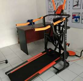 Jual Alat fitnes # Manual Treadmil 6F