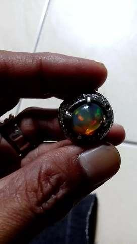 Natural opal kalimaya banten