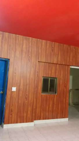 Wooden paper and Glass paper and Color ful window paper