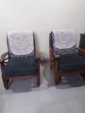 Teakwood sofa for sale