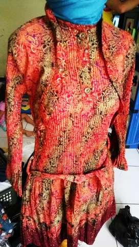 Batik plisket lucu banget unik