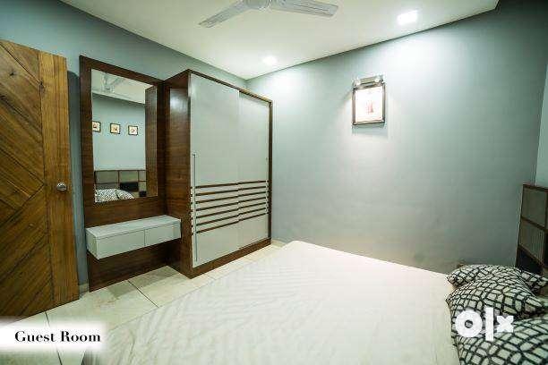 3BHK Luxurious/Spacious flat # Vasna Bhayli Link Road# ShyamalParkLane 0