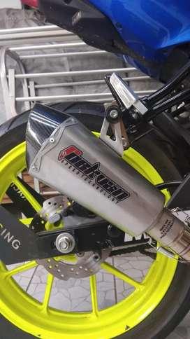 Knalpot racing motor gsx cbr yoshimura silincer rockvan r15 akrapovic