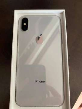 iPhone x (silver)