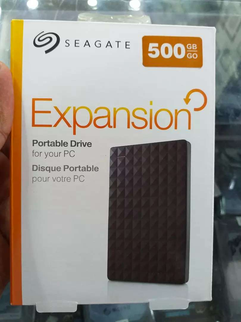 Seagate Portable External Brand New 500GB Hard Drive with Delivery 0