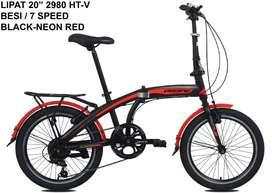 Sepeda lipat pacific ukuran 20