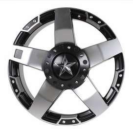 Velg Nissan Xtrail - HSR Rasta JT5137 Ring20 Semi Matte Black