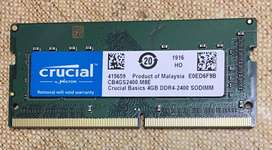DDR4 Laptop RAM at cheapest