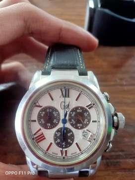 jam tangan pria gc guess collection gc 37002 chronohraph