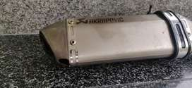 Akrapovic exhaust silencer titanium