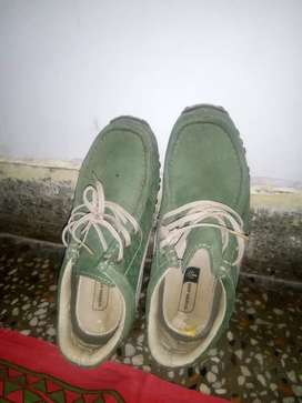 Leather shoes Woodland