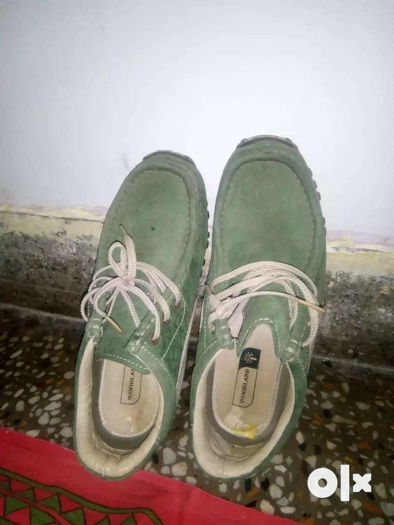 Leather shoes Woodland 0