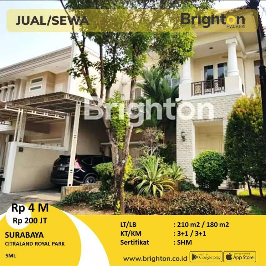 Rumah di Citraland Surabaya Barat 0