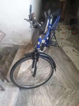 Blue colour exclusive cycle