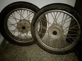 Bullet wheels
