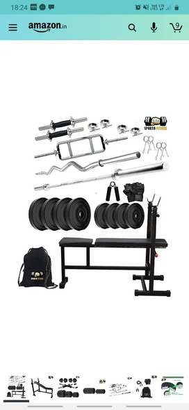 Complete home workout gym accessories