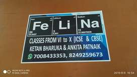 FeLiNa's PCMB for ICSE & CBSE FROM class 6 to 10