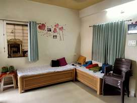 1Bhk semi furnished flate. 3 Balcony and all r Garden facing .