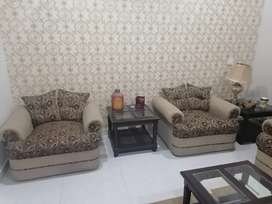 Sofa 5 seater with tables