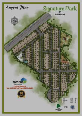 Hmda Luxurious plots in Luxurious GATED Community AIIMS