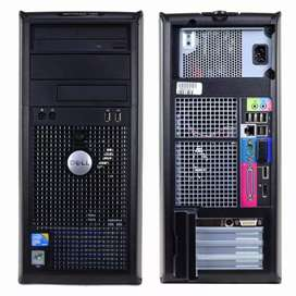 Dell 755 / 760 Core 2 Duo Tower Pc Exchange Offer With Delivery