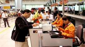 Direct hiring in airlines ground staff..