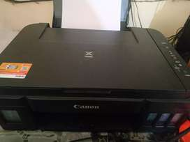 Urgent selling Canon All in one colour printer.