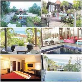 Rumah villa mewah parang tritis sangat elegan view pantai